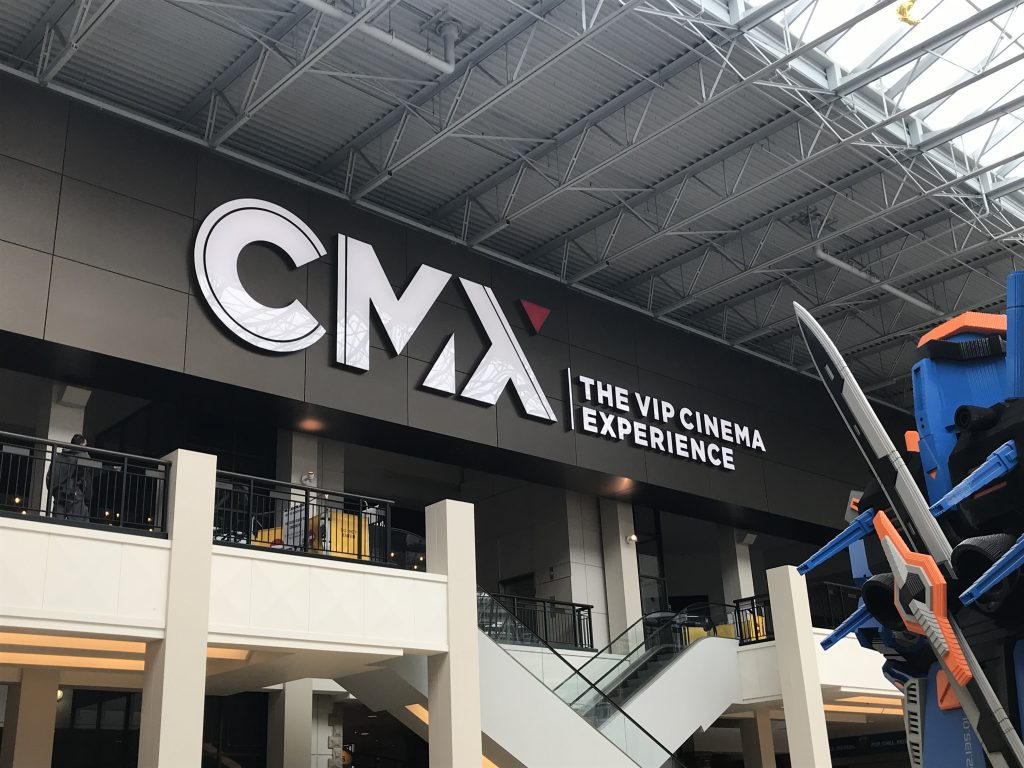 CMX Theater  by Leroy Signs