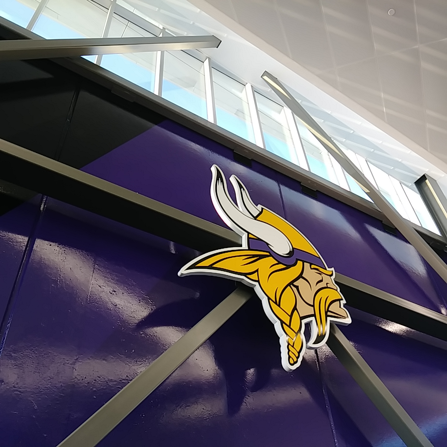 Minnesota Viking Sign at US Bank Stadium - Commercial Signs