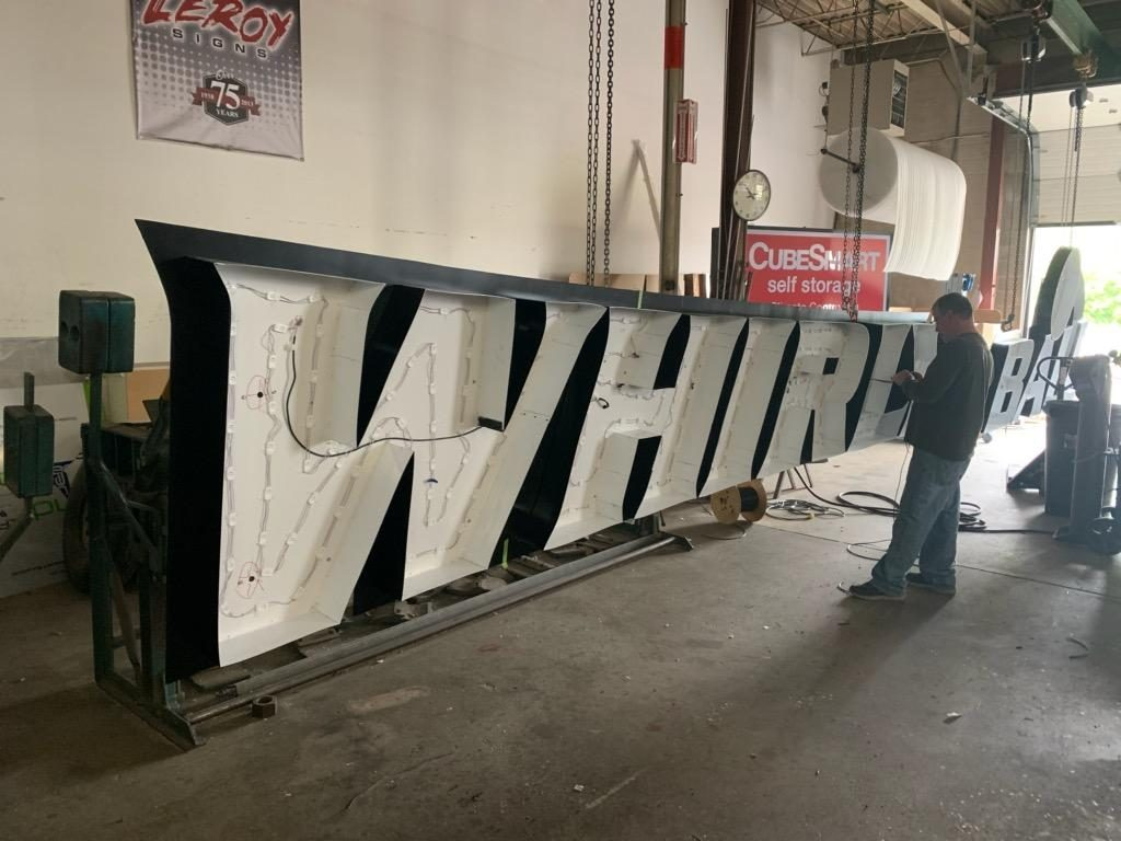 Leroy Signs manufactures signs